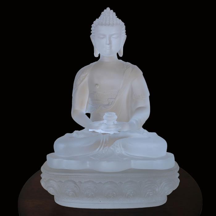 琉璃佛教工艺品家居摆件