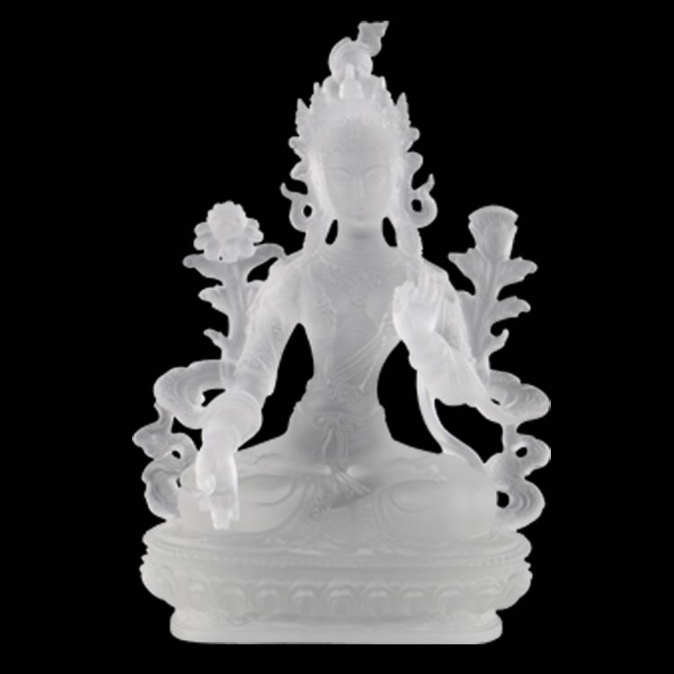 琉璃密宗白度母佛像