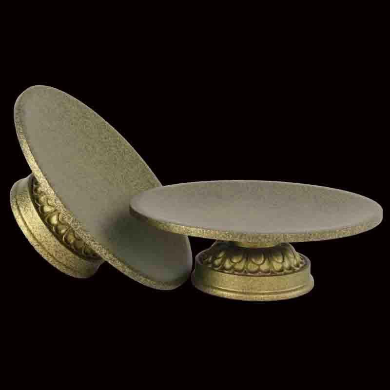 家居装饰品供品摆件 素面果碟贡吕碟纯铜果盘佛教用品7寸铜果碟