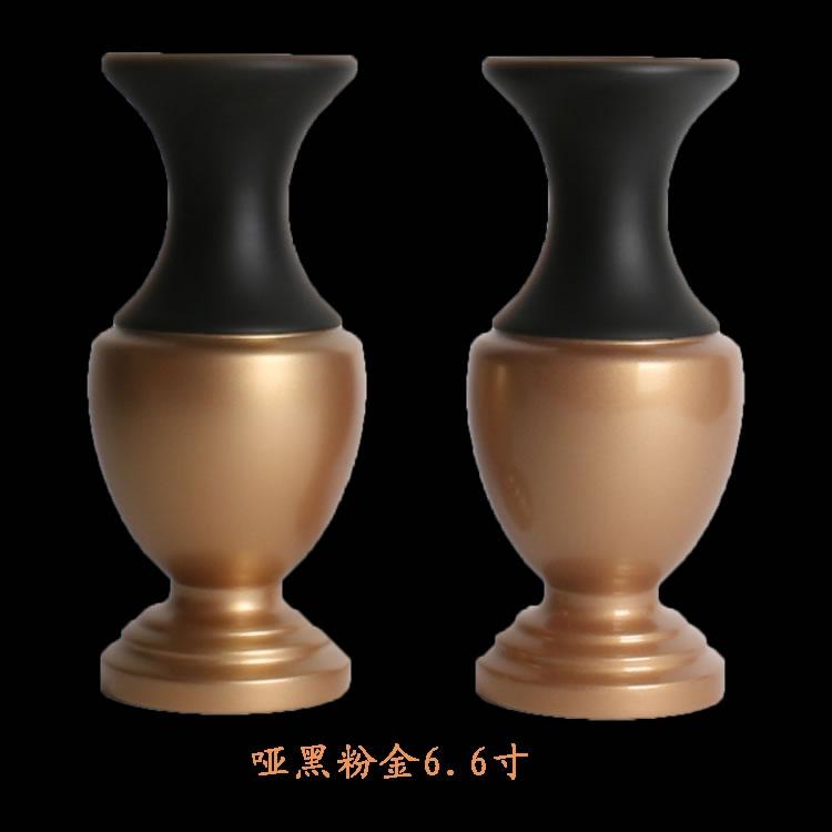 佛堂台面花瓶 素色纯铜花瓶  光身素面 纯铜拉丝